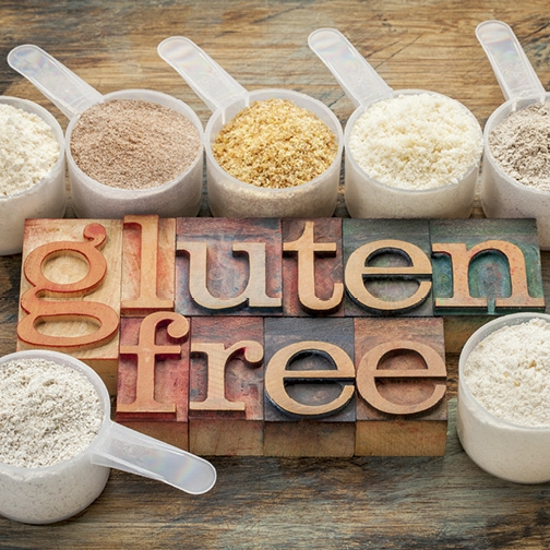List of foods you can eat on a gluten-free diet